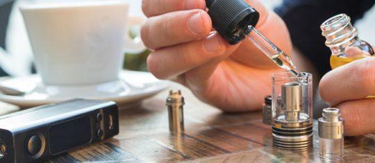 Liquides pour cigarettes électroniques