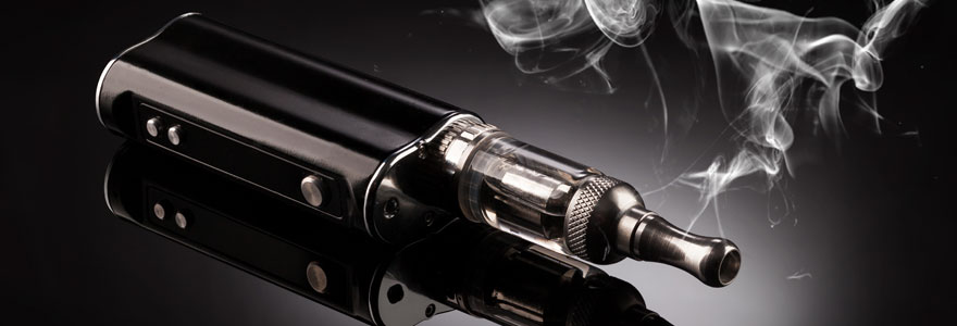principe d'une cigarette électronique